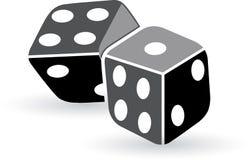 Art dice Stock Image