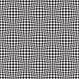 Art Distortion Pattern op sans couture dans le format de vecteur Illustration de Vecteur