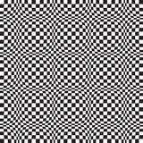 Art Distortion Pattern op sans couture dans le format de vecteur illustration libre de droits