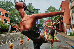 798 Art District Zone aera Peking China Lizenzfreies Stockfoto