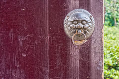 The art of a door knocker Stock Image