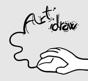 Art draw Stock Photo