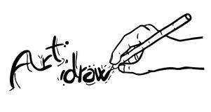 Art draw Royalty Free Stock Photography
