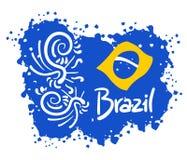 Art du Brésil Image libre de droits