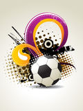 Art du football Images stock