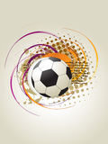 Art du football Image stock