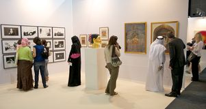 Art Dubai Royalty Free Stock Images