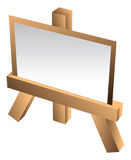 Art easel Stock Photos