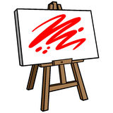 Art Easel Royalty Free Stock Images