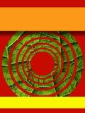 Art Ebook-Abdeckung 70s mit natürlichem Thema lizenzfreies stockfoto