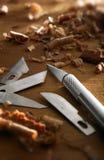 Art en bois Photographie stock libre de droits