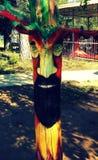 Art en bois Images libres de droits