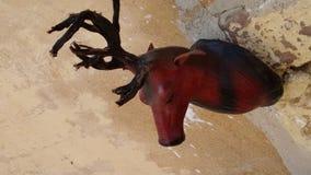 Art en bois du Ràjasthàn images libres de droits