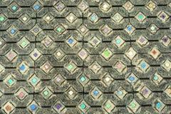 Art et abrégé sur en verre colorés de mosaïque Photographie stock libre de droits