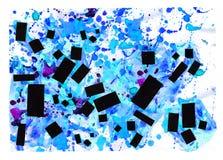 Art et peinture et abstrait et couleur Photographie stock libre de droits