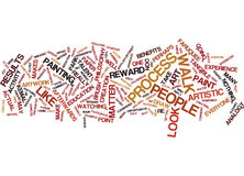 Art Is For Everyone Word Cloud Concept. Art Is For Everyone Text Background Word Cloud Concept Stock Photo