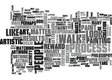 Art Is For Everyone Word Cloud. ART IS FOR EVERYONE TEXT WORD CLOUD CONCEPT Royalty Free Stock Photos