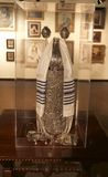 Art Exhibit giudaico cristiana al museo di Belz Fotografia Stock