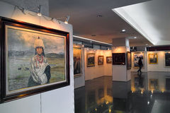 Art Exhibition Photos stock