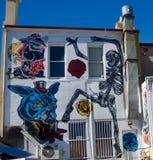 Art Expressions: Murals in Fremantle, Western Australia Stock Image
