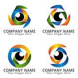 Art Of Eye Concept Logo Fotografía de archivo libre de regalías