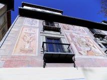Art on the Facade- Granada. Art on the facade Stock Image