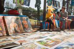 Art fair Stock Images