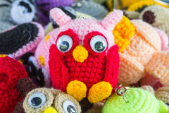 Art fait main et métiers de poupée de crochet Images libres de droits