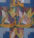 Art In Faro Portugal Lizenzfreies Stockbild