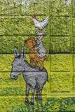 Art, Fauna, Horse Like Mammal, Grass stock photography