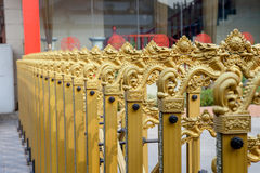 Art fence of gate Stock Image