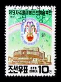Art Festival, 9ème amitié Art Festival, seri de ressort de Pyong Yang Photographie stock