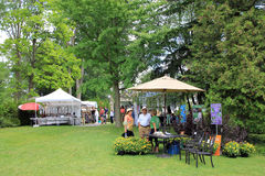 Art Festival in Guildwood Park Royalty Free Stock Photo