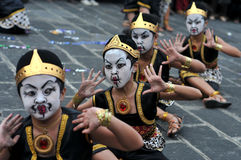 Art Festival i Yogyakarta, Indonesien royaltyfria foton