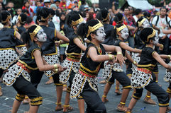 Art Festival a Yogyakarta, Indonesia Immagine Stock Libera da Diritti