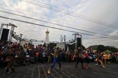 Art Festival in Yogyakarta, Indonesia Stock Photo