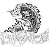 Art Fish thaïlandais Photographie stock