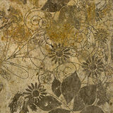 Art floral background Stock Images