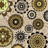 Art  floral background Stock Image