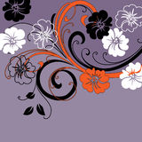 Art  floral background Stock Images