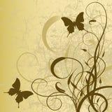 Art  floral background Stock Image