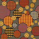 Art floral deco pattern Stock Photography