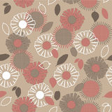 Art floral deco pattern Stock Image