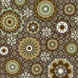 Art floral pattern. Background baroque Royalty Free Stock Photo