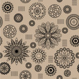 Art floral pattern Royalty Free Stock Photo