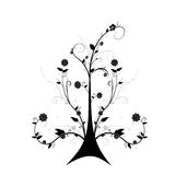 Art floral tree royalty free stock image