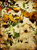Art floral vintage colorful background Royalty Free Stock Photos