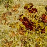 Art floral vintage colorful background Stock Images