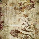 Art floral vintage paper Stock Images