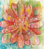 Art Flower Abstract royalty illustrazione gratis